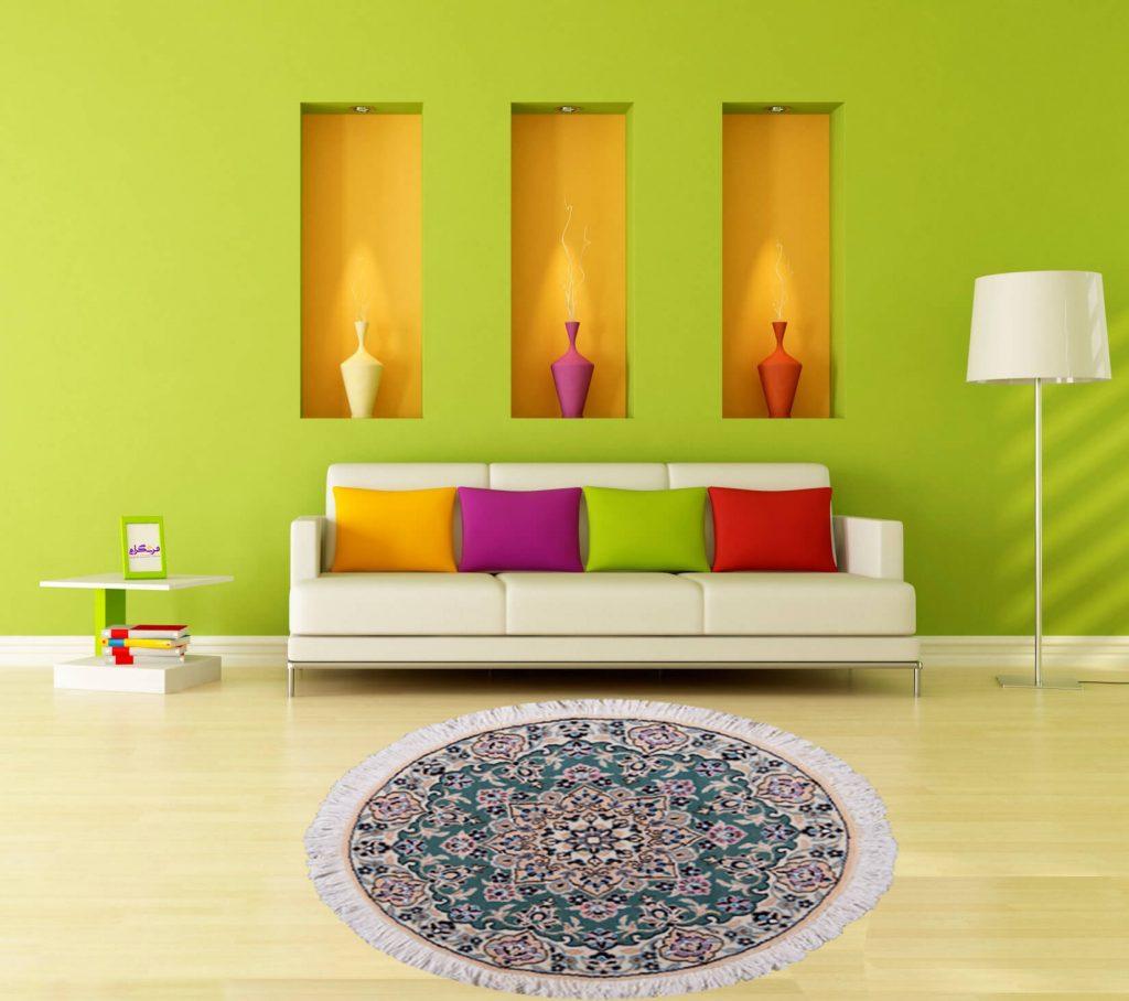 فرشگرام | خرید اینترنتی فرش ماشینی |مقالات فرش| ست کردن مبل و فرش|روانشناسی رنگ در انتخاب فرش
